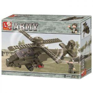 SLUBAN Τουβλάκια Army, Attack Helicopter M38-B0298, 199τμχ | Παιχνίδια | elabstore.gr
