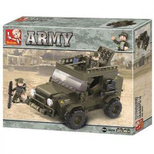 SLUBAN Τουβλάκια Army, SUV M38-B0299, 217τμχ | Παιχνίδια | elabstore.gr