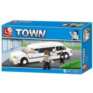 SLUBAN Τουβλάκια Town, Limousine M38-B0323, 135τμχ | Παιχνίδια | elabstore.gr