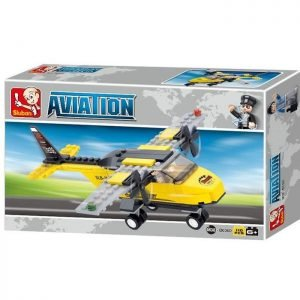 SLUBAN Τουβλάκια Aviation, Trainer Aircraft M38-B0360, 110τμχ | Παιχνίδια | elabstore.gr