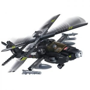 SLUBAN Τουβλάκια Army, Attack Helicopter M38-B0511, 293τμχ   Παιχνίδια   elabstore.gr