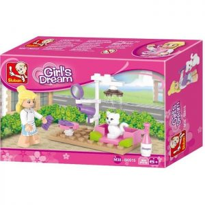 SLUBAN Τουβλάκια Girls Dream, Pet Salon M38-B0515, 30τμχ | Παιχνίδια | elabstore.gr
