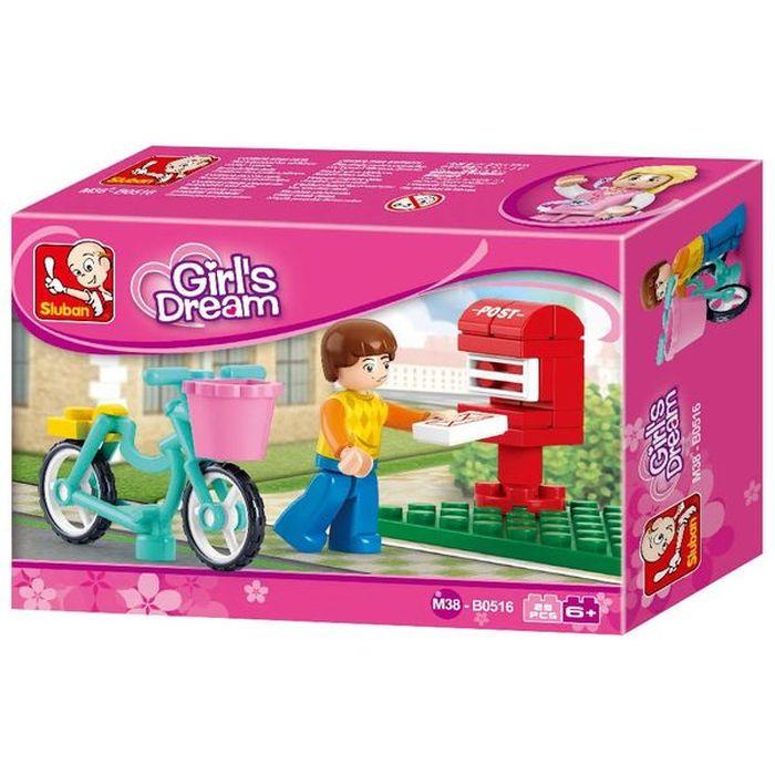 SLUBAN Τουβλάκια Girls Dream, Postman M38-B0516, 29τμχ | Παιχνίδια | elabstore.gr