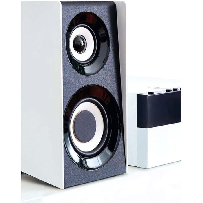 THOMSON HI-FI System MIC301BT, bluetooth, FM/CD/MP3/USB, 75W, λευκό | Εικόνα & Ήχος | elabstore.gr