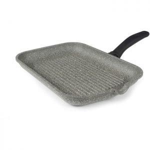 FLONAL Γκριλιέρα αντικολλητική Monolite 36 x 26cm με λαβή βακελίτη | Οικιακές & Προσωπικές Συσκευές | elabstore.gr