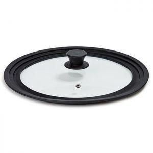 FLONAL Γυάλινο καπάκι με στεφάνι σιλικόνης για σκεύη 28/30/32cm | Οικιακές & Προσωπικές Συσκευές | elabstore.gr