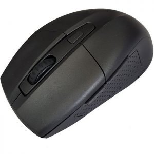POWERTECH Ασύρματο ποντίκι PT-598, Οπτικό, 1600DPI, 6 πλήκτρα, μαύρο | Συνοδευτικά PC | elabstore.gr
