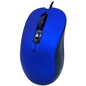 POWERTECH Ενσύρματο ποντίκι, Οπτικό, 3200DPI, USB, 5 πλήκτρα, μπλε | Συνοδευτικά PC | elabstore.gr