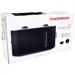 THOMSON Φορητό ραδιόφωνο RT250, 4 bands, μαύρο | Εικόνα & Ήχος | elabstore.gr