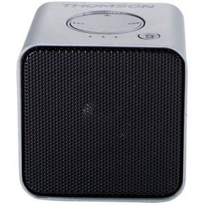 THOMSON Φορητό ηχείο WS01GM με μικρόφωνο, bluetooth/SD/AUX in, 3W, ασημί | Συνοδευτικά PC | elabstore.gr