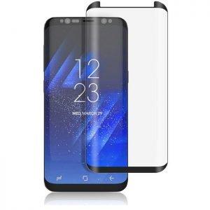 POWERTECH Tempered Glass 3D, Mini, Full glue, για Samsung S8, μαύρο | Αξεσουάρ κινητών | elabstore.gr