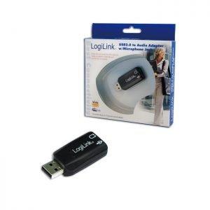 Soundcard Logilink USB 5.1 UA0053 | SOUNDCARDS | elabstore.gr