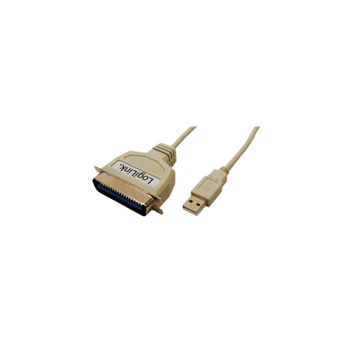 USB 2.0 to 1 parallel male Logilink AU0003C | USB ADAPTORS | elabstore.gr
