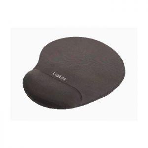 Mousepad GEL Wrist Rest LogiLink ID0027 Black   MOUSEPADS   elabstore.gr