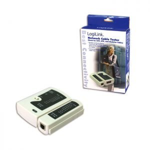 Cable tester Logilink wz0010   NETWORKING TOOLS   elabstore.gr