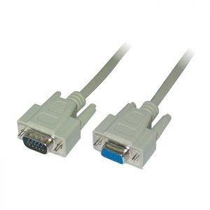 Cable VGA M/F Bulk 5m Logilink CV0025 | VGA CABLES | elabstore.gr