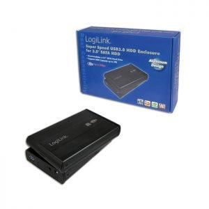 Enclosure 3,5'' SATA USB 3.0 Logilink UA0107 | 3,5'' | elabstore.gr