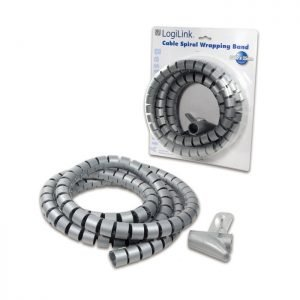 Cable Spiral Wrapping Band 2,5m Logilink KAB0013 | NETWORKING ACCESSORIES | elabstore.gr