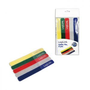 Cable Tie With Velco Logilink KAB0008 | NETWORKING ACCESSORIES | elabstore.gr