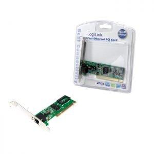 Pci Fast Ethernet lan card Logilink PC0039 | PCI CARDS | elabstore.gr