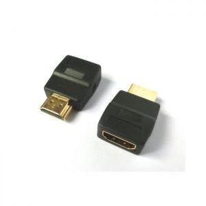 HDMI adapter M/F degree180 Aculine AD-033 | HDMI/DVI/VGA ADAPTORS | elabstore.gr
