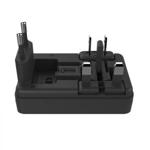 Charger Universal WK WP-U08 Black | MOBILE COMPONENTS | elabstore.gr