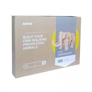 ROKR Ξύλινο 3D πάζλ μαμούθ RBT-A400S, με κίνηση & ήχο, 40τμχ | Παιχνίδια | elabstore.gr