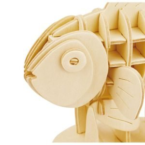 ROWOOD Ξύλινο 3D πάζλ Clownfish JP278, 36τμχ | Παιχνίδια | elabstore.gr