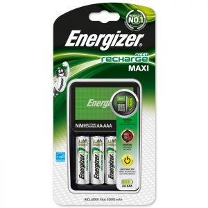 ENERGIZER MAXI CHARGER & 4xAA | ΜΠΑΤΑΡΙΕΣ / ENERGY | elabstore.gr