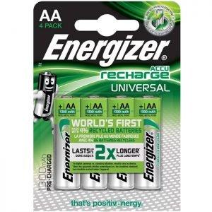 ENERGIZER AA-HR6/1300mAh/4TEM UNIVERSAL RECHARGEABLE F016556 | ΜΠΑΤΑΡΙΕΣ / ENERGY | elabstore.gr
