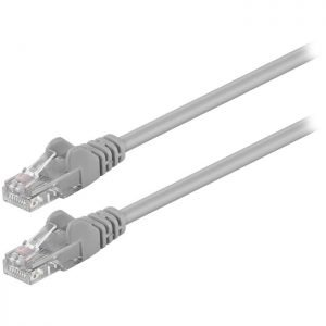 68611 CAT 5e U/UTP PATCH CABLE 0.25m GREY | ΚΑΛΩΔΙΑ / ADAPTORS | elabstore.gr