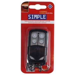 SIMPLE 4 REMOTE CONTROL CHANNELS 4 | ΗΛΕΚΤΡΟΝΙΚΑ / ΕΡΓΑΛΕΙΑ | elabstore.gr