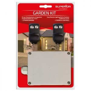 SUPERIOR GARDEN KIT RECEIVER WITH 2 REMOTE 433,92MHz | ΗΛΕΚΤΡΟΝΙΚΑ / ΕΡΓΑΛΕΙΑ | elabstore.gr