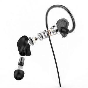 UIISII Ακουστικά Handsfree CM5, Hi-Res Audio, μαύρo | Αξεσουάρ κινητών | elabstore.gr