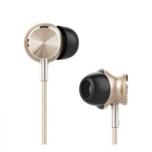 UIISII earphones GT500, 96db, 1.2m, χρυσό | Αξεσουάρ κινητών | elabstore.gr