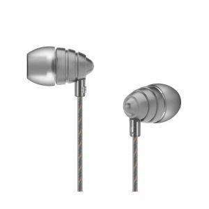 UIISII Ακουστικά Handsfree US90 Little Bee, ασημί | Αξεσουάρ κινητών | elabstore.gr