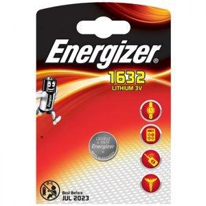 ENERGIZER CR1632 FSB1 LITHIUM COIN   ΜΠΑΤΑΡΙΕΣ / ENERGY   elabstore.gr