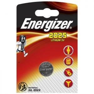 ENERGIZER CR2025 LITHIUM COIN | ΜΠΑΤΑΡΙΕΣ / ENERGY | elabstore.gr