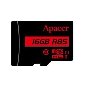 Memory Card Micro SDHC UHS-I U1 Class10 16GB Apacer R85   MEMORY CARDS   elabstore.gr