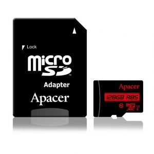 Memory Card Micro SDHC UHS-I U1 Class10 128GB Apacer R85 | MEMORY CARDS | elabstore.gr