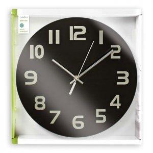NEDIS CLWA006GL30BK Circular Wall Clock, 30 cm Diameter, Easy To Read Numbers, B | ΜΙΚΡΟΣΥΣΚΕΥΕΣ / ΕΠΟΧΙΑΚΑ / ΛΕΥΚΕΣ ΣΥΣΚΕΥΕΣ | elabstore.gr