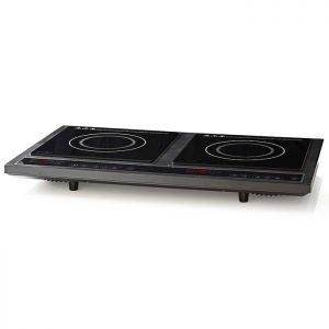 NEDIS KAIP112CBK2 Double Induction Cooker, 3400 W | ΜΙΚΡΟΣΥΣΚΕΥΕΣ / ΕΠΟΧΙΑΚΑ / ΛΕΥΚΕΣ ΣΥΣΚΕΥΕΣ | elabstore.gr