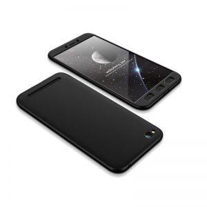 POWERTECH Θήκη 360° Protect για Xiaomi Redmi 5A, μαύρη | Αξεσουάρ κινητών | elabstore.gr