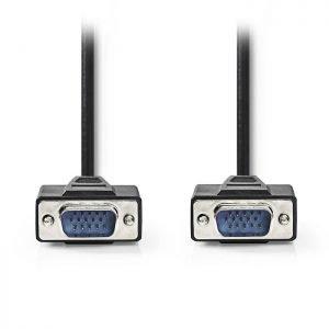 NEDIS CCGP59000BK300 VGA Cable, VGA Male - VGA Male, 30m, Black | ΚΑΛΩΔΙΑ / ADAPTORS | elabstore.gr