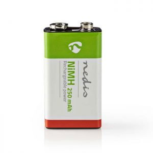 NEDIS BANM9HF91B Rechargeable Ni-MH Battery E-Block, 8.4 V, 250 mAh, 1 piece, Bl | ΜΠΑΤΑΡΙΕΣ / ENERGY | elabstore.gr