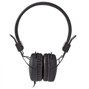 NEDIS HPWD1100BK Wired Headphones, On-ear, Foldable, 1.2 m Round Cable, Black | ΕΙΚΟΝΑ / ΗΧΟΣ | elabstore.gr