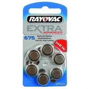 RAYOVAC μπαταρίες ακουστικών βαρηκοΐας 675MF, mercury free, 1,45V, 6τμχ | Μπαταρίες - Φακοί | elabstore.gr