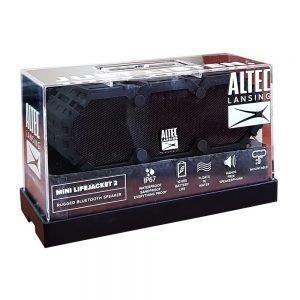 ALTEC LANSING φορητό ηχείο Mini Life Jacket 2, IP67, μαύρο | Συνοδευτικά PC | elabstore.gr