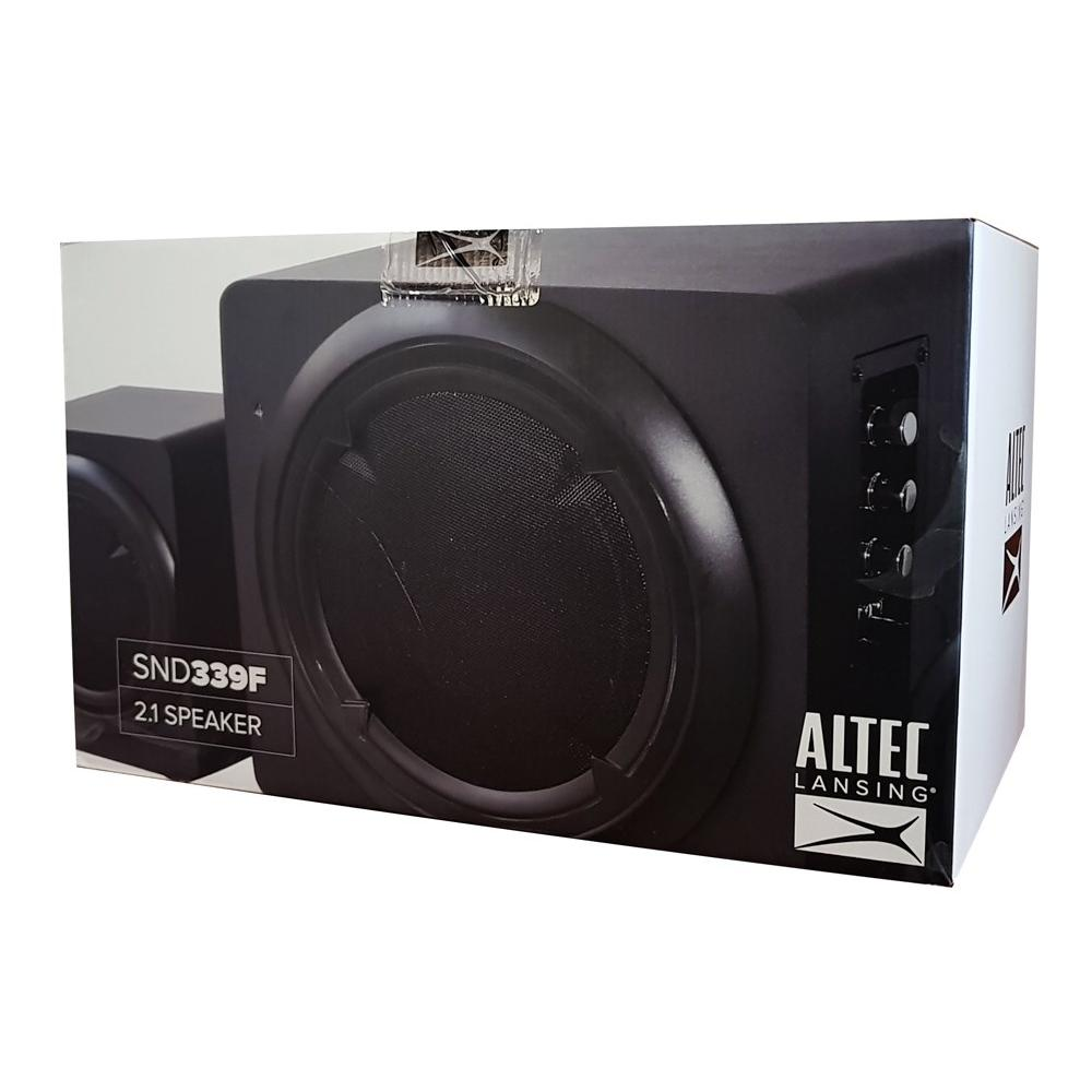 ALTEC LANSING ηχεία Helix, 2.1ch, 39W RMS, HD Audio, USB-SD, μαύρα | Συνοδευτικά PC | elabstore.gr