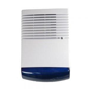 Σειρήνα εξωτερικού χώρου BS-1W, LED, Blue | Συναγερμοί | elabstore.gr